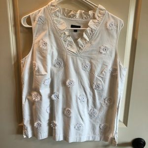 White Talbots Top